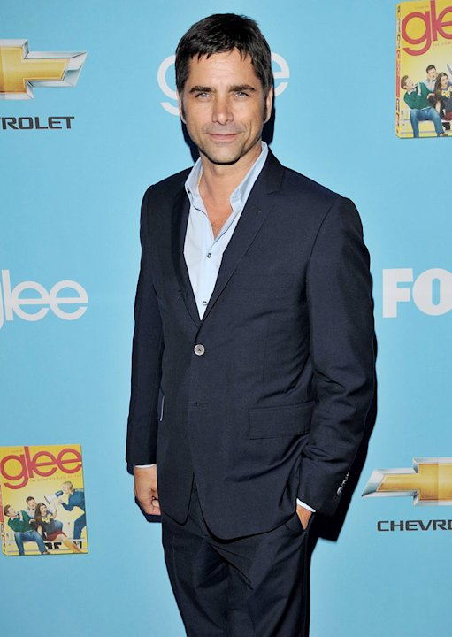 "John Stamos attends the ""Glee"" Season 2 Premiere Screening and DVD Release Party at Paramount Studios on September 7, 2010, in Hollywood."