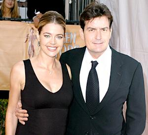 "Charlie Sheen ""Supports"" Decision to Have Ex-Wife Denise Richards Care for His, Brooke Mueller's Kids"