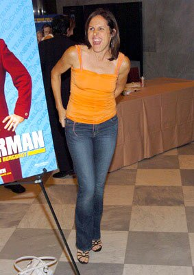 Molly Shannon at the New York premiere of Dreamworks' Anchorman