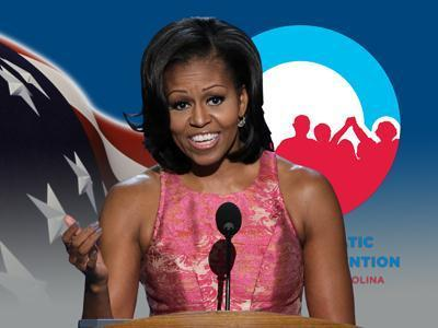 '28-thousand tweets per minute' for First Lady