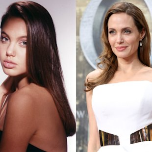 Celebrity faces: Then & Now