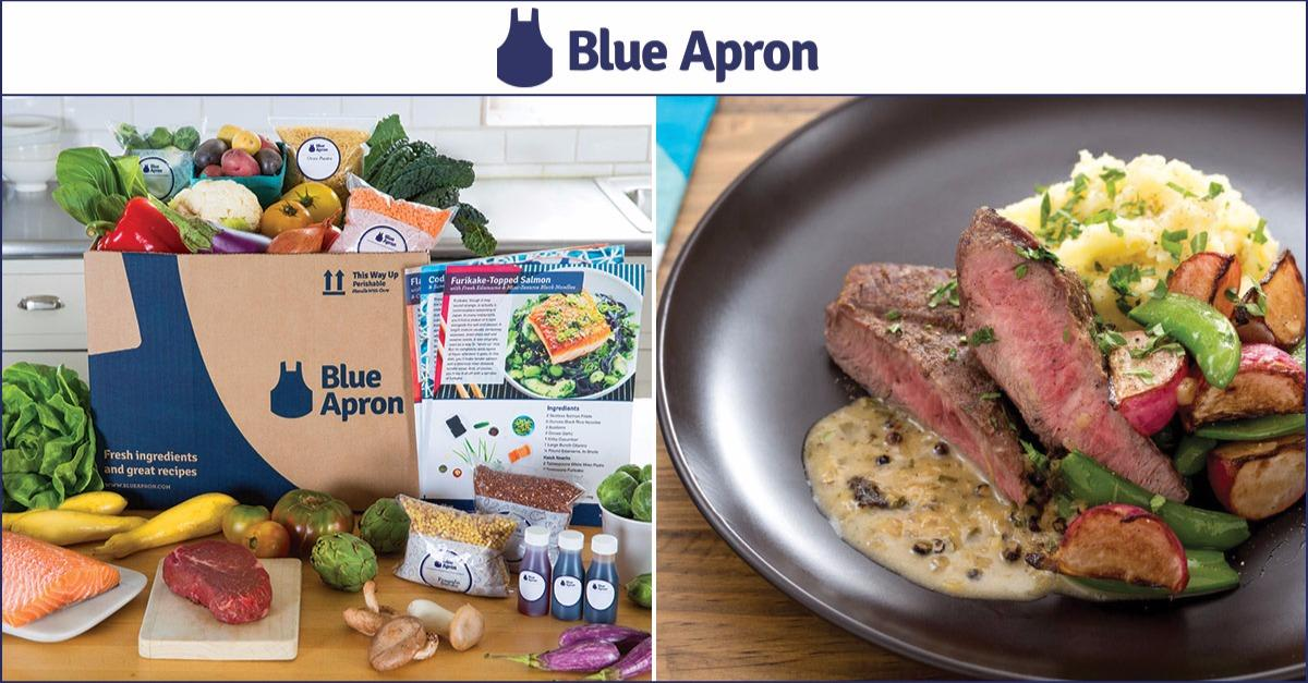 Blue Apron - Try Today & Get 2 Meals Free!