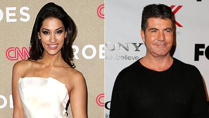 Simon Cowell Spotted Out With 'True Blood' Star