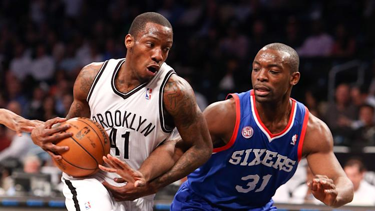 NBA: Philadelphia 76ers at Brooklyn Nets
