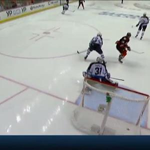 Vatanen beats Pavelec with shot from point