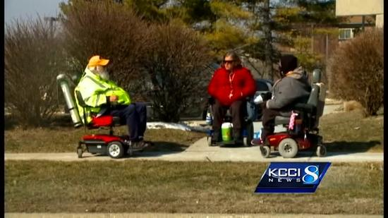 Man's wheelchair stolen for third time in year