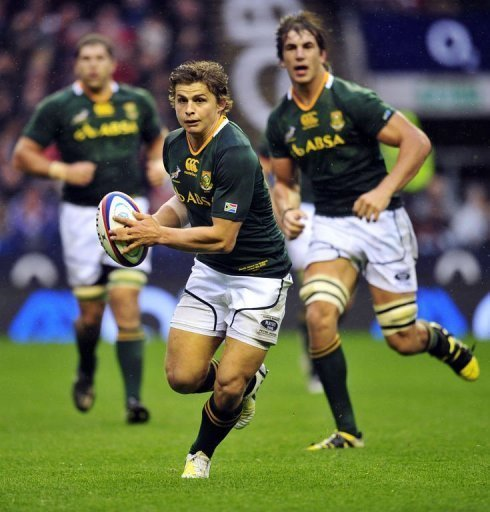 Coach Meyer buoyant as 'grinding' Boks beat England