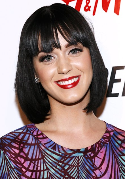 Katy Perry com corte chanel