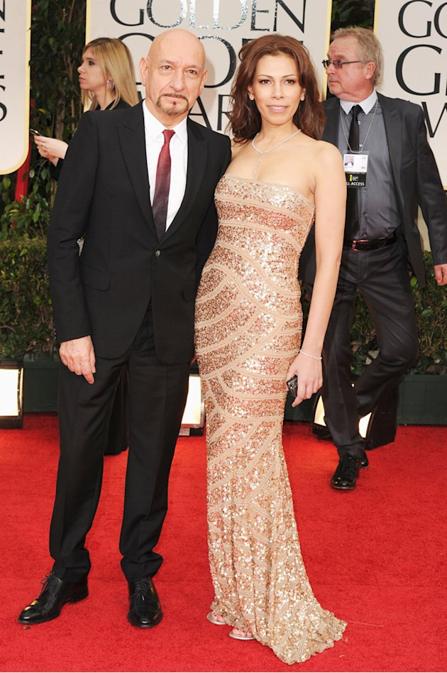 Ben Kingsley and wife Daniela …