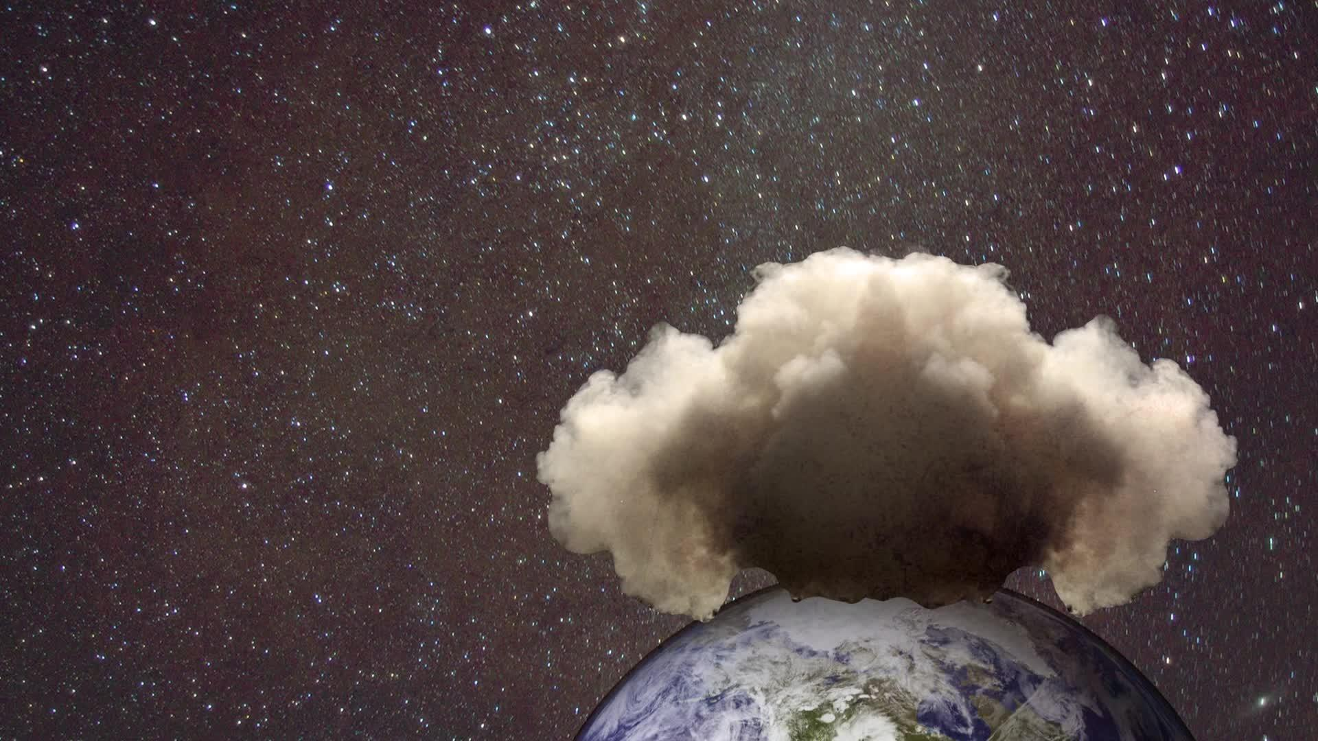 Ask Us Anything: Could An Asteroid Impact Actually Knock The Moon Into Earth?