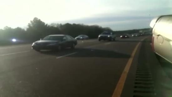 At least 1 injured in crash on I-220