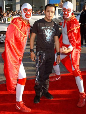 Efren Ramirez with the Nachos at the Hollywood premiere of Paramount Pictures' Nacho Libre