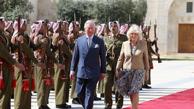 Prince Charles And The Duchess Of Cornwall Visit Jordan - Day 2