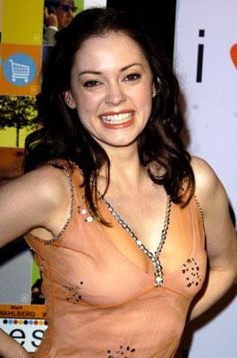 Premiere: Rose McGowan at the Hollywood premiere of Fox Searchlight's I Heart Huckabees - 9/22/2004