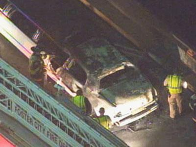 CHP: Limo That Caught Fire Had Extra Passenger