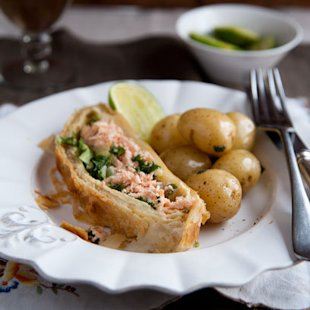 Salmon En Croute: Recipes