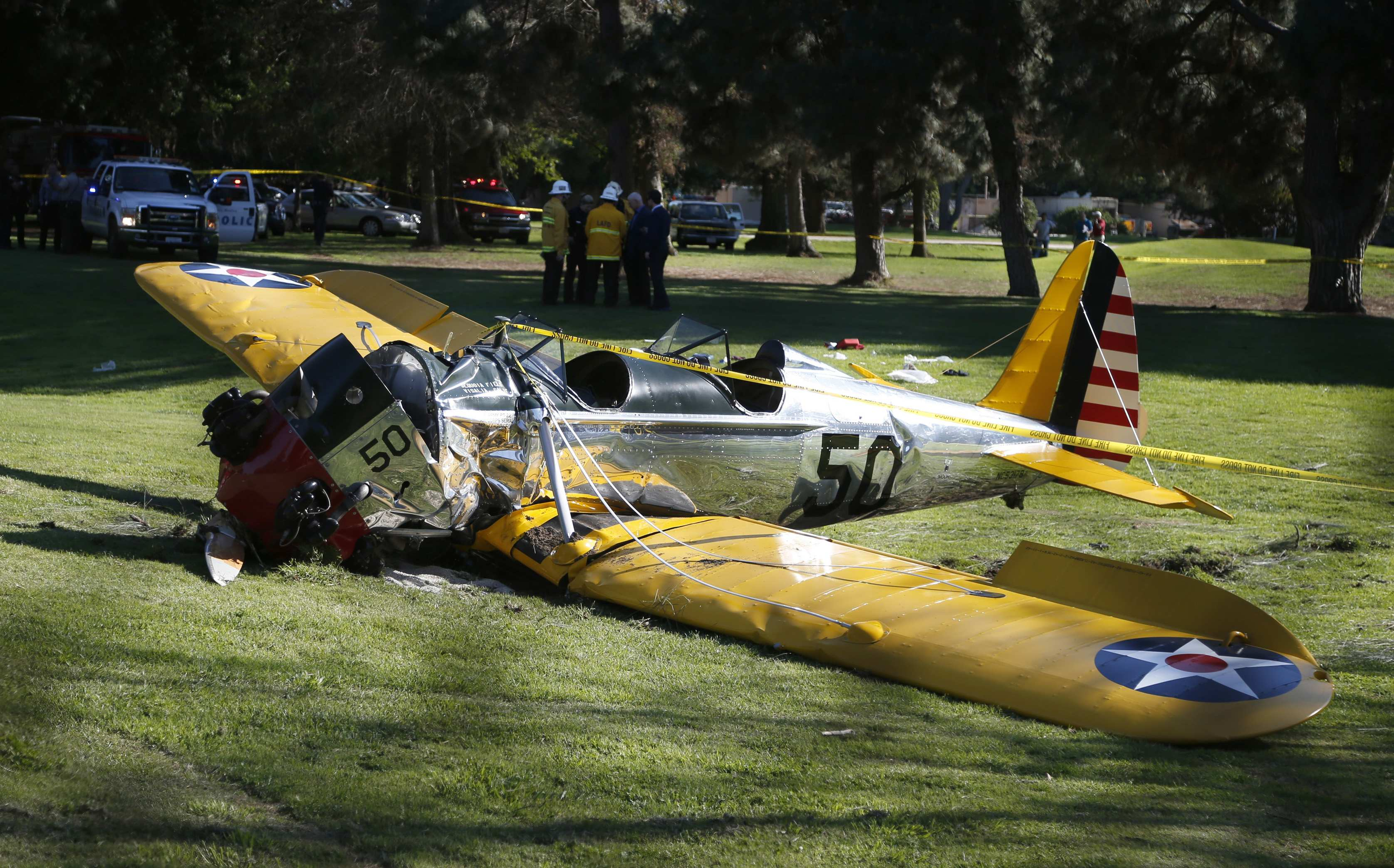 Actor Harrison Ford injured in small plane crash near Los Angeles: report