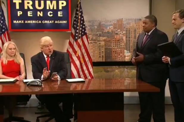 Donald Trump Seethes on Twitter While Watching 'SNL' Live