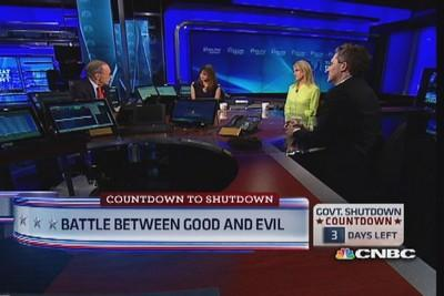 Battle between good and evil