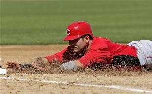 Reds and Brewers tie 9-9
