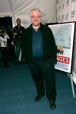 Philip Seymour Hoffman at the Los Angeles AFI Fest screening of Fox Searchlight's The Savages