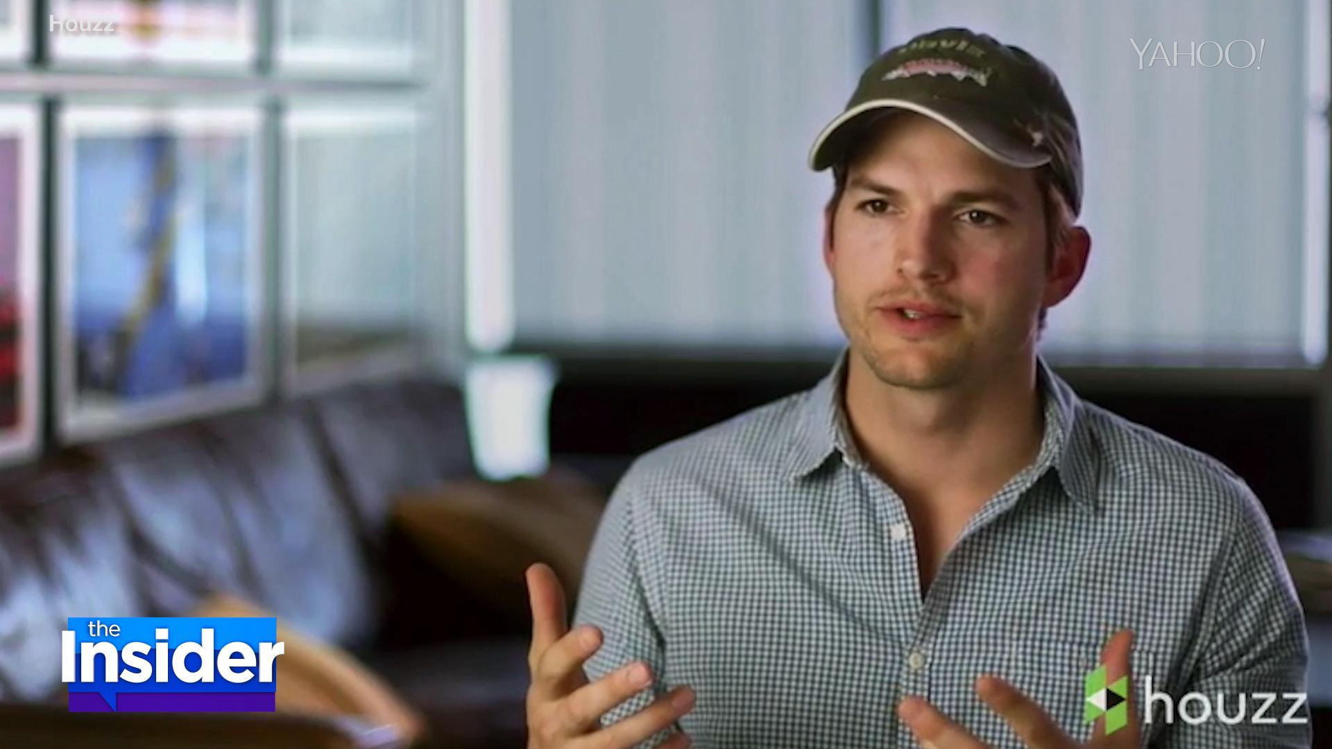 Ashton Kutcher Remodels His Mom's House for Mother's Day