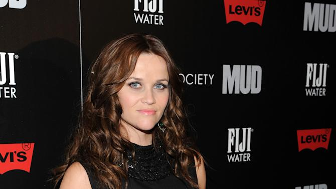 """Actress Reese Witherspoon attends the premiere of """"Mud"""" hosted by The Cinema Societywith FIJI Water & Levi's at the Museum of Modern Art on Sunday April 21, 2013 in New York. (Photo by Evan Agostini/InvisionAP)"""
