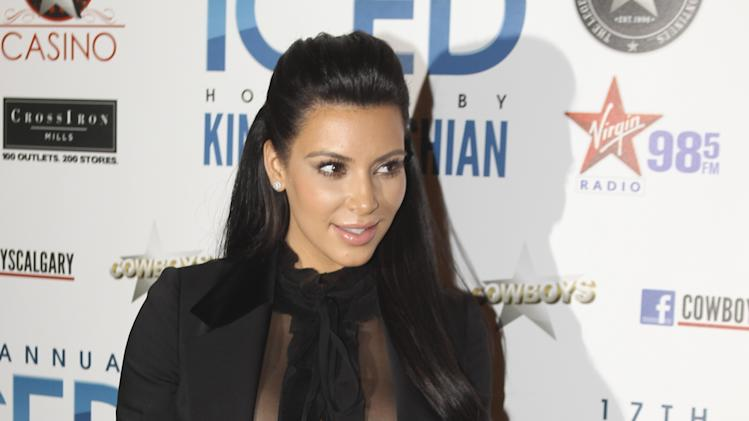 Kim Kardashian Hosts ICED