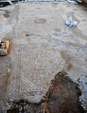 Stunning Byzantine Mosaic Uncovered in Israel