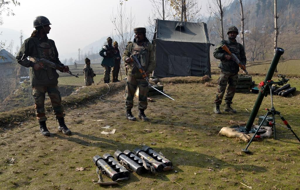 Four dead as attackers storm Indian army camp in Kashmir
