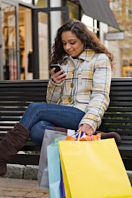 More people are mobile shopping on the go, making retail addiction a more serious thing.