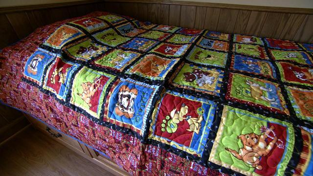 Prolific quilt maker dedicates time to help kids
