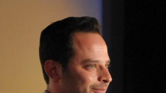 "Actor/comedian Nick Kroll speaks onstage during an exclusive screening of Comedy Central's ""Kroll Show"" hosted by Entertainment Weekly on Tuesday, January 15, 2013 at LA's Silent Movie Theatre in Los Angeles. (Photo by John Shearer/Invision for Entertainment Weekly/AP Images)"