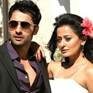 Jackky Bhagnani And Nidhi Subbaiah Bonding In Goa
