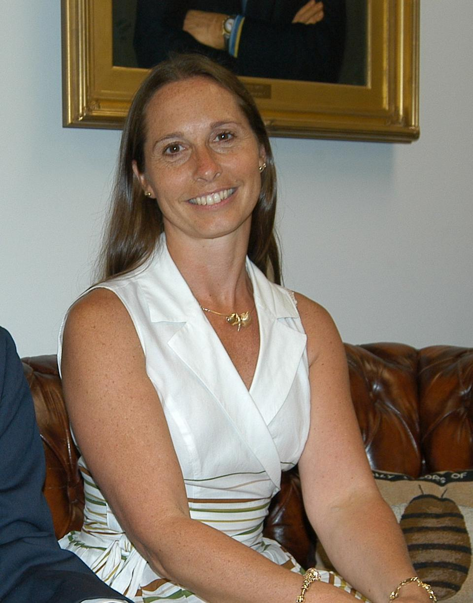 "DAWN HOCHSPRUNG, 47, principal: ""She had an extremely likable style about her,"" said Gerald Stomski, first selectman of Woodbury, where Hochsprung lived and had taught. ""She was an extremely charismatic principal while she was here."" (AP Photo/Newton Bee, Eliza Hallabeck)"