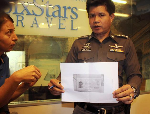 Thai police investigate the two stolen passports case which used by two passengers traveling on the missing Malaysia Airlines plane