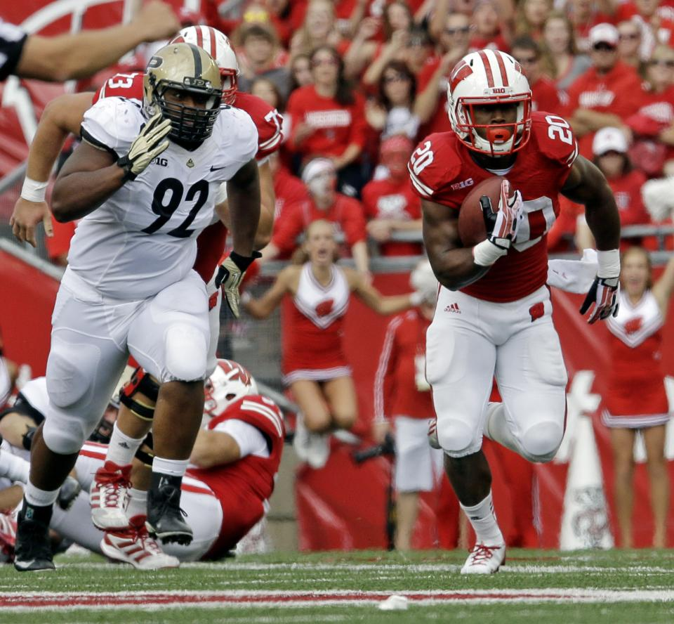 No. 23 Badgers back at it with RBs Gordon, White