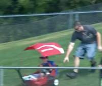 Dad Loses Son While Chasing Baseball (VIDEO)