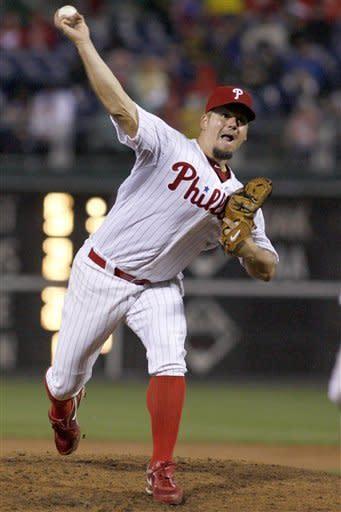 Blanton, Polanco lead Phillies past Astros 5-1