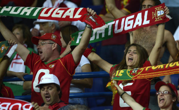 Portugal Fans AFP/Getty Images