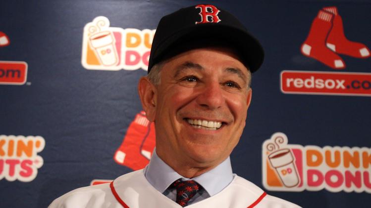 Boston Red Sox Introduce Bobby Valentine