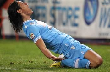Cavani coy on Napoli future as De Laurentiis demands 63m euros
