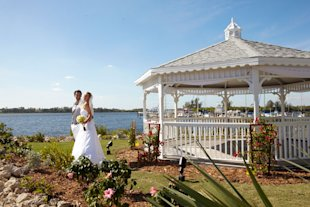 club med wedding gazebo