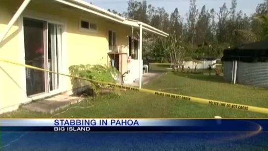 Pahoa woman arrested in stabbing