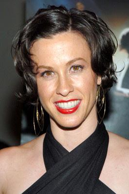 Alanis Morissette at the New York premiere of MGM's De-Lovely