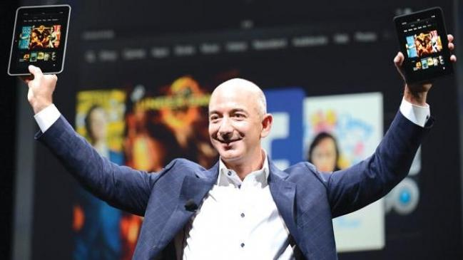 Amazon chief Bezos wants governments to enforce a patent war ceasefire