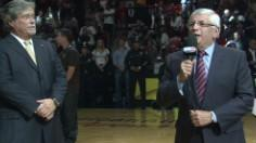 Heat Ring Ceremony: Commissioner Stern