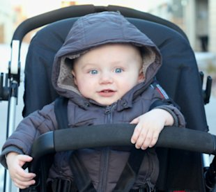 3 tips for taking your baby outside on a cold winter day