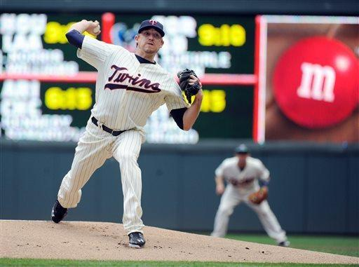 Doumit sends Twins to 5-4 win over Mariners