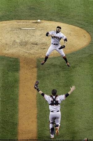 How sweep it is: Giants finish off Tigers